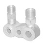 7/8 Inch (in) Vertical Size for Number 8 Compressor Manifold Fitting